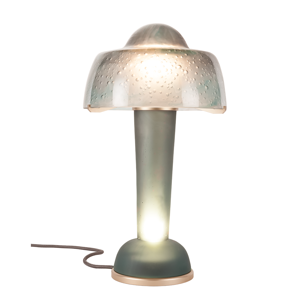 Resonance Lamp Grey Daum Site Officiel Manufacture 100